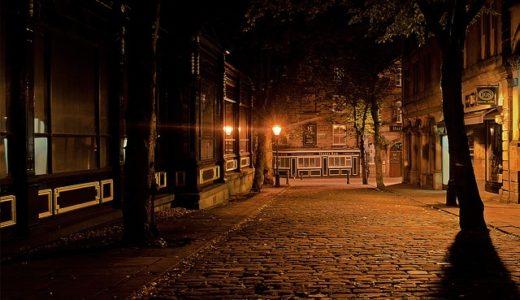 【フリーBGM】人通りの少ない夜の交差点/悲しくて少し怖いピアノ曲