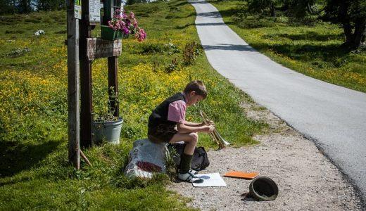 【フリーBGM】河川敷でトランペットを奏でる少年/ほのぼのとした楽曲