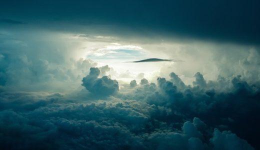 【フリーBGM】厚い雲に覆われた少し顔を出す太陽/シリアス感のあるオーケストラ