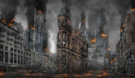 【フリーBGM】焼けた建物の匂いがまだ香る/焼けたようなオーケストラ