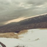 【フリーBGM】冬の雪積もる険しい道の先の阿蘇山大観峰から見る景色は/壮大なオーケストラ
